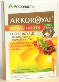 Gelée Royale - Royal'Fruits (20 ampoules)